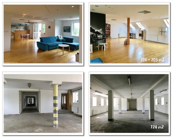 byt a komerční prostory