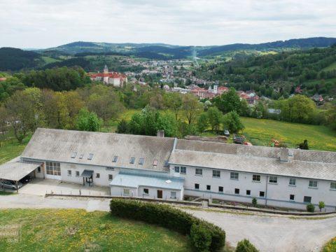 Podnikatelský a bytový dům Brantlova Vimperk