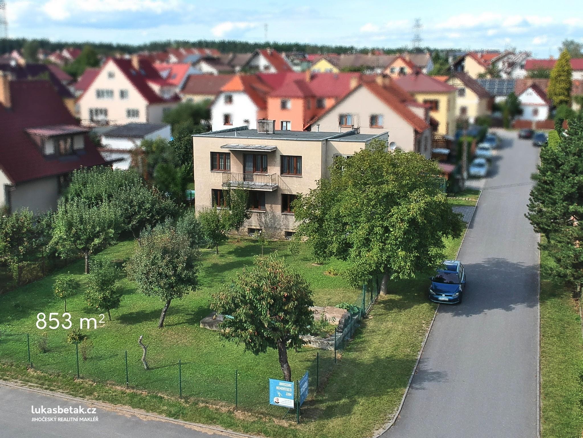 PRODÁN – Dům 6+2, J.Wolkera, Ševětín