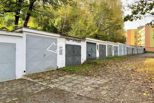 PRONAJATO – garáž na ul. Vyšehrad, Český Krumlov